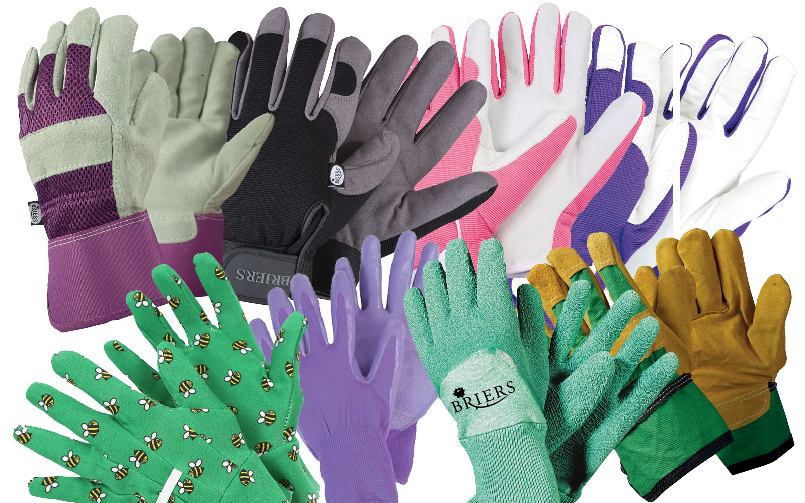 Briers ladies high quality gardening gloves all rounders for Gardening gloves ladies